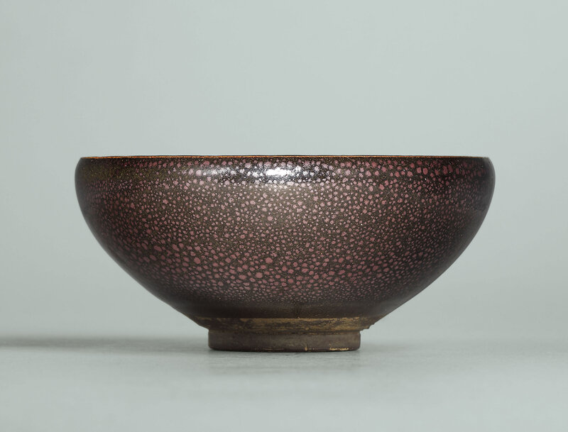 A small Huairen black-glazed 'oil spot' bowl, Northern Song-Jin dynasty (960-1234)