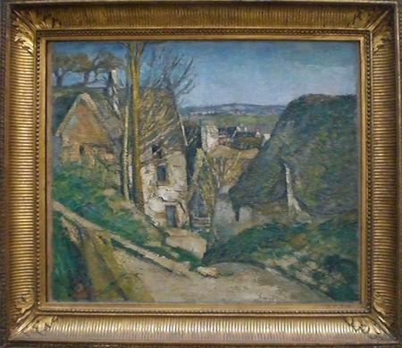 Cour de ferme-Cezanne
