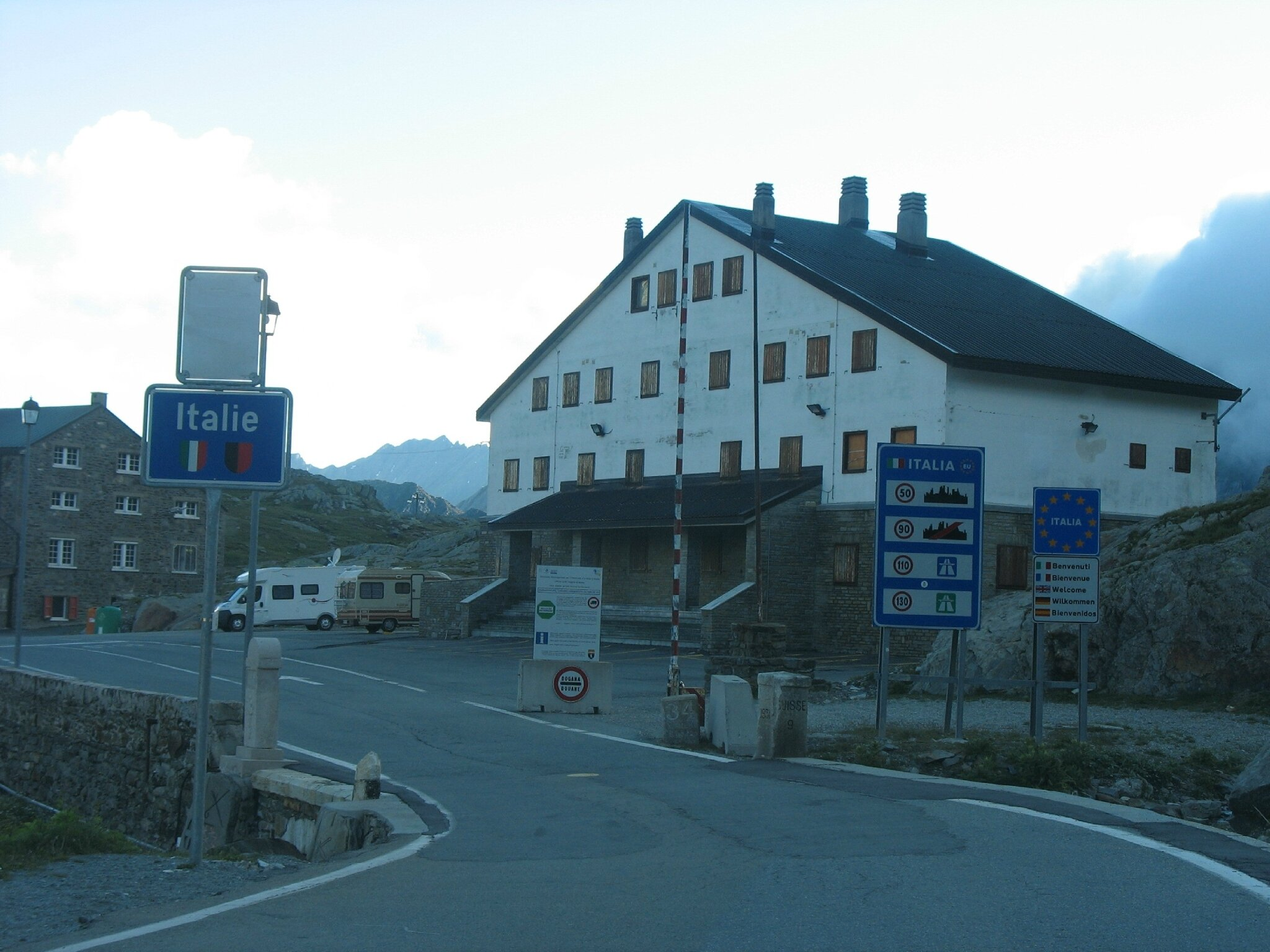 Col du Grand Saint-Bernard (Italie)