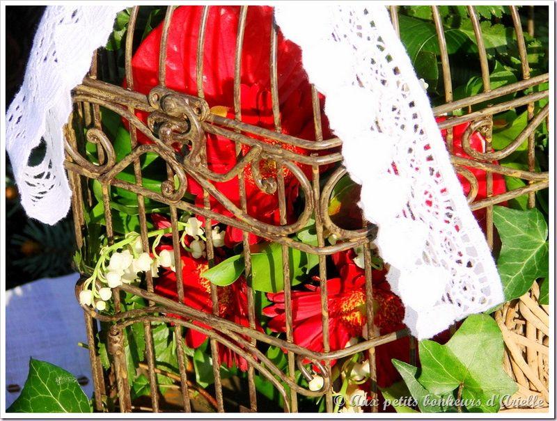 Cage à oiseaux 18 © Aux petits bonheurs d'Arielle