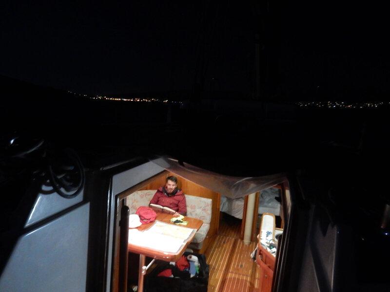 Paski Zaljev, navigation de nuit, 8 mars 2020