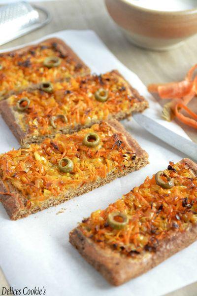 tarte pate brisee muscade oignons carotte ig bas vegan