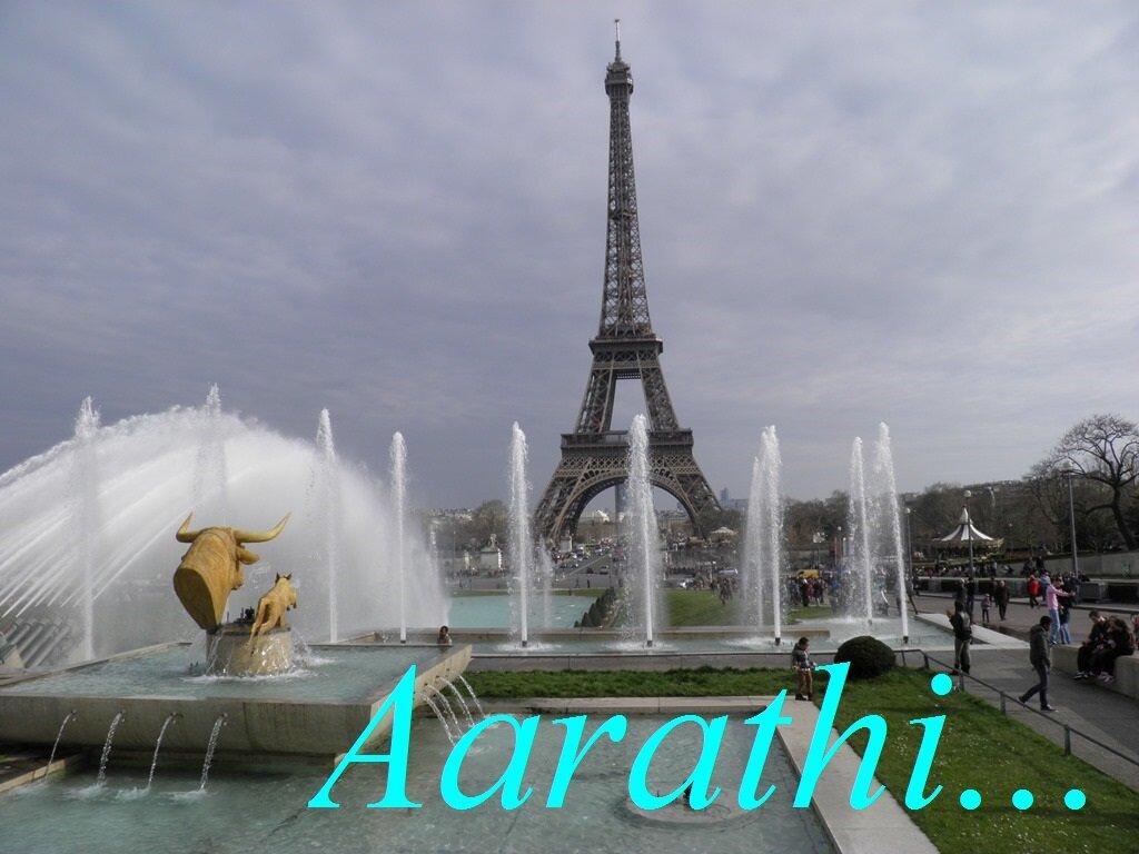 Splish- Splash @ Eiffel Tower