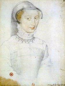Marguerite d'Angoulême, repris par Dumonstier, BnF