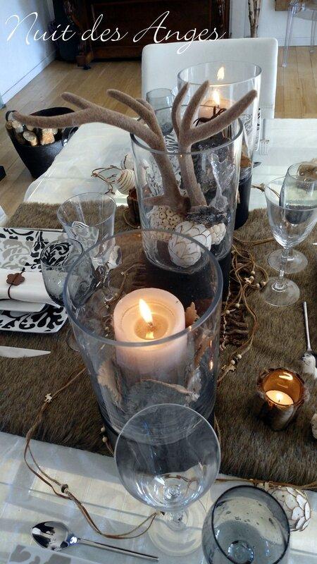 Nuit des anges décoratrice de mariage décoration de table scandinave 007