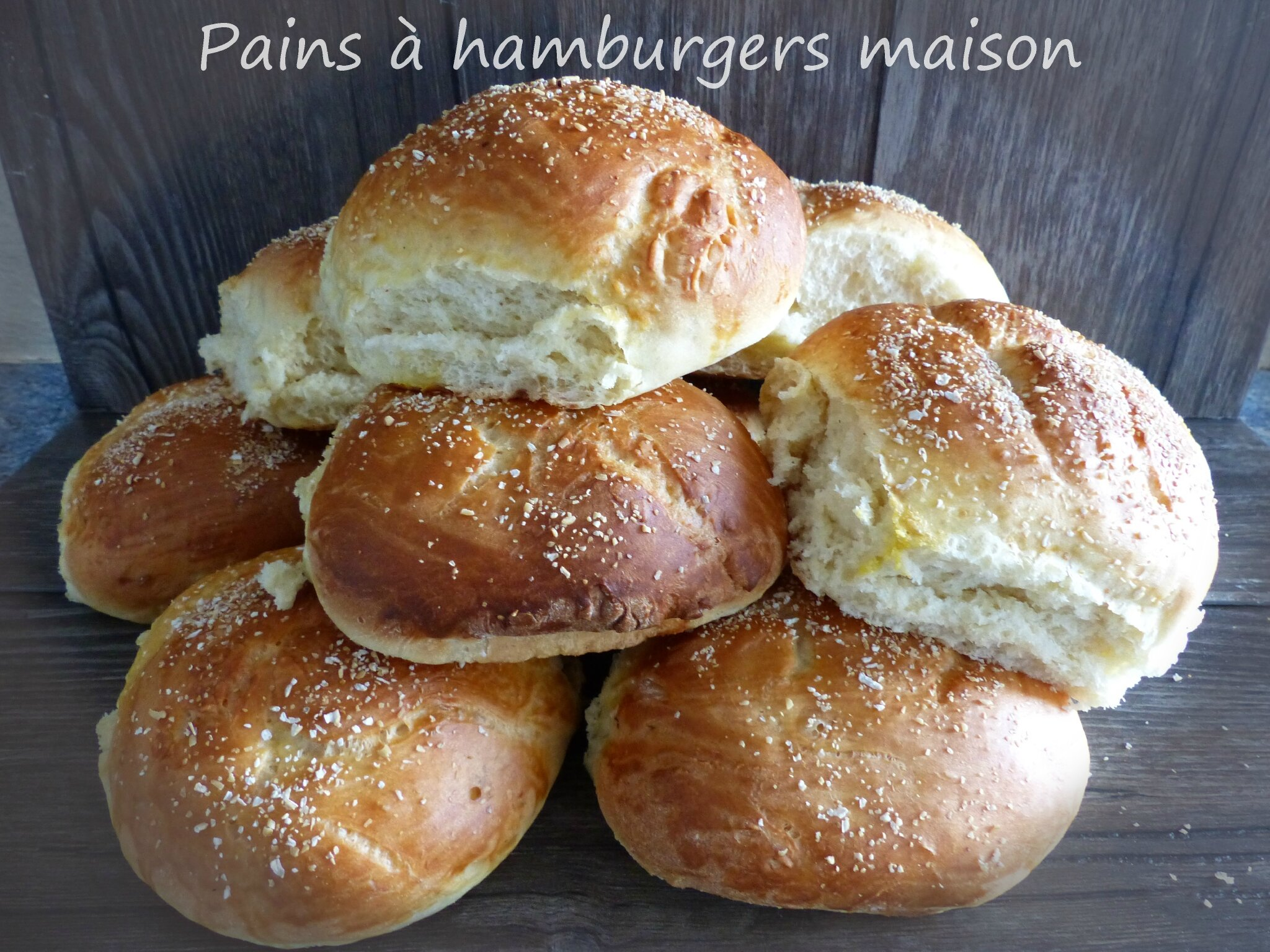 Pains à hamburgers