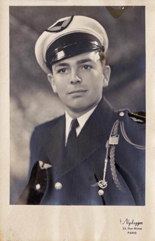 Victor Legrand pendant son service militaire
