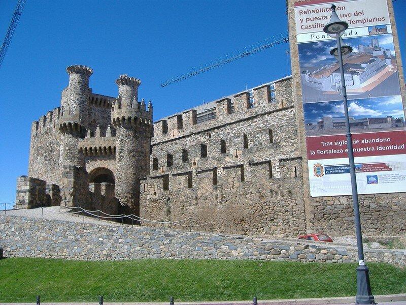 Château des Templiers-Ponferrada