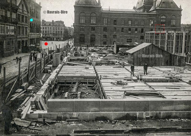 Le Havre Poste construction 1922 France