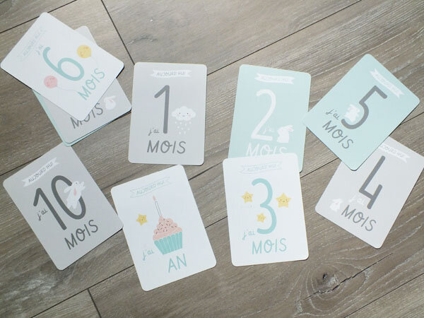 3 souvenir-souvenirs-bébé-baby-maman-flocon-mamanflocon-cartes-cards-evolution-mois-month