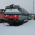BB 67420 multi dans la neige à Bordeaux