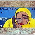 A antibes, des artistes inconnus s'expriment sur les murs de la ville