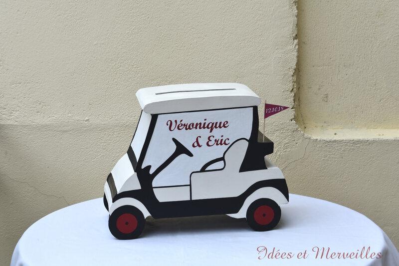 urne golf cart#voiturette - idees et merveilles