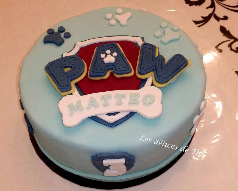 Pat Patrouille génoise et ganache chocolat 24 11 18 (11)