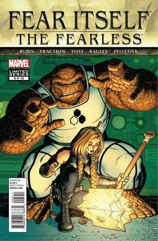 fear itself the fearless 5