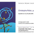 Exposition christophe robe - locquirec