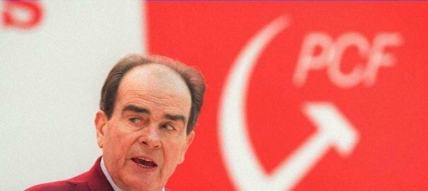 photo-datee-du-26-janvier-1994-du-secretaire-general-du-parti-communiste-georges-marchais-prononcant-un-discours-lors-du-28eme-congres-du-pcf_5177945