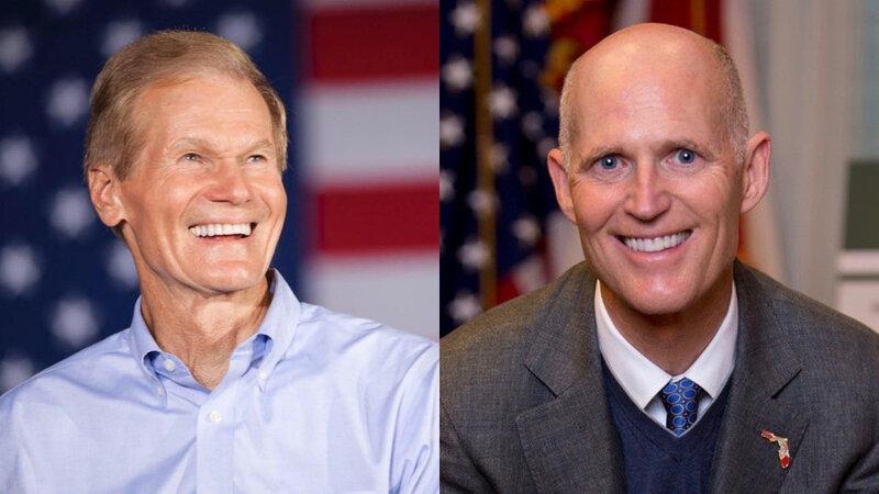 Midterms 2018 battle for the Senate Nelson vs Scott