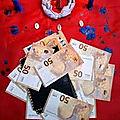 Portefeuille-magique-bedou magique-porte-monnaie qui multiplie euros et dollars