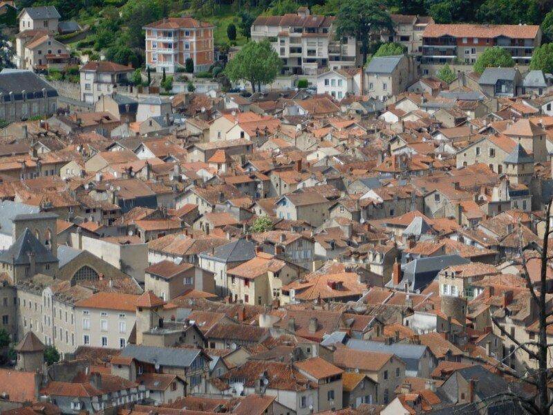 Villefranche, la ville d'en haut
