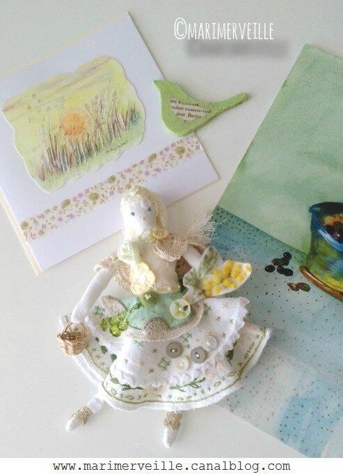 Poupée 6 - aquarelles marimerveille