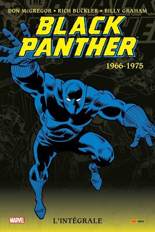 intégrale black panther 1966-75