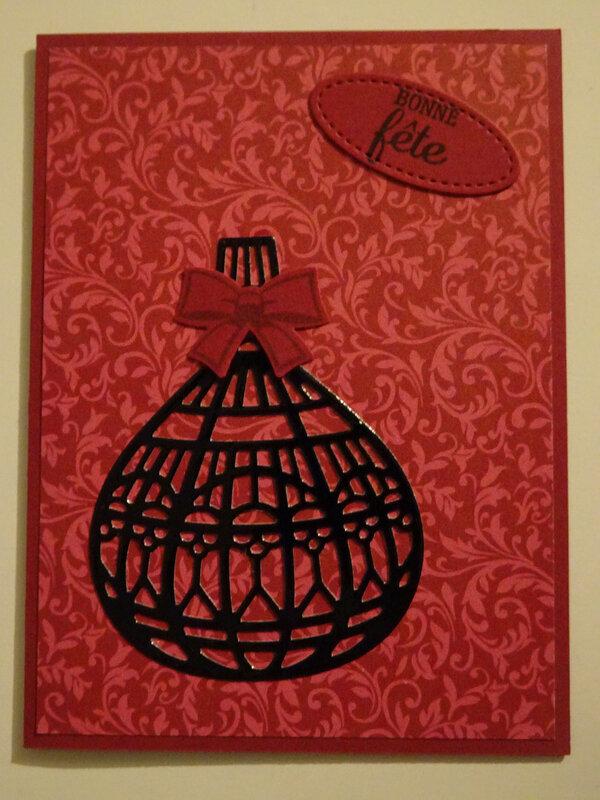 13 Carte Flacon de Parfum