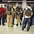 Les Ghostbusters dans la foule de PCE