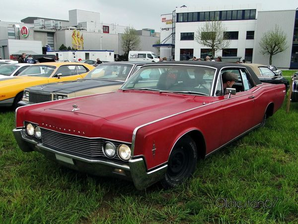 lincoln continental hardtop coupe 1966 a