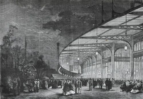 Exposition universelle 1867 Palais Omnibus