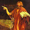 Prologue de jean. chapitre vi : le baptême et le baptiste ; péché / pardon ; le rapport père / fils.