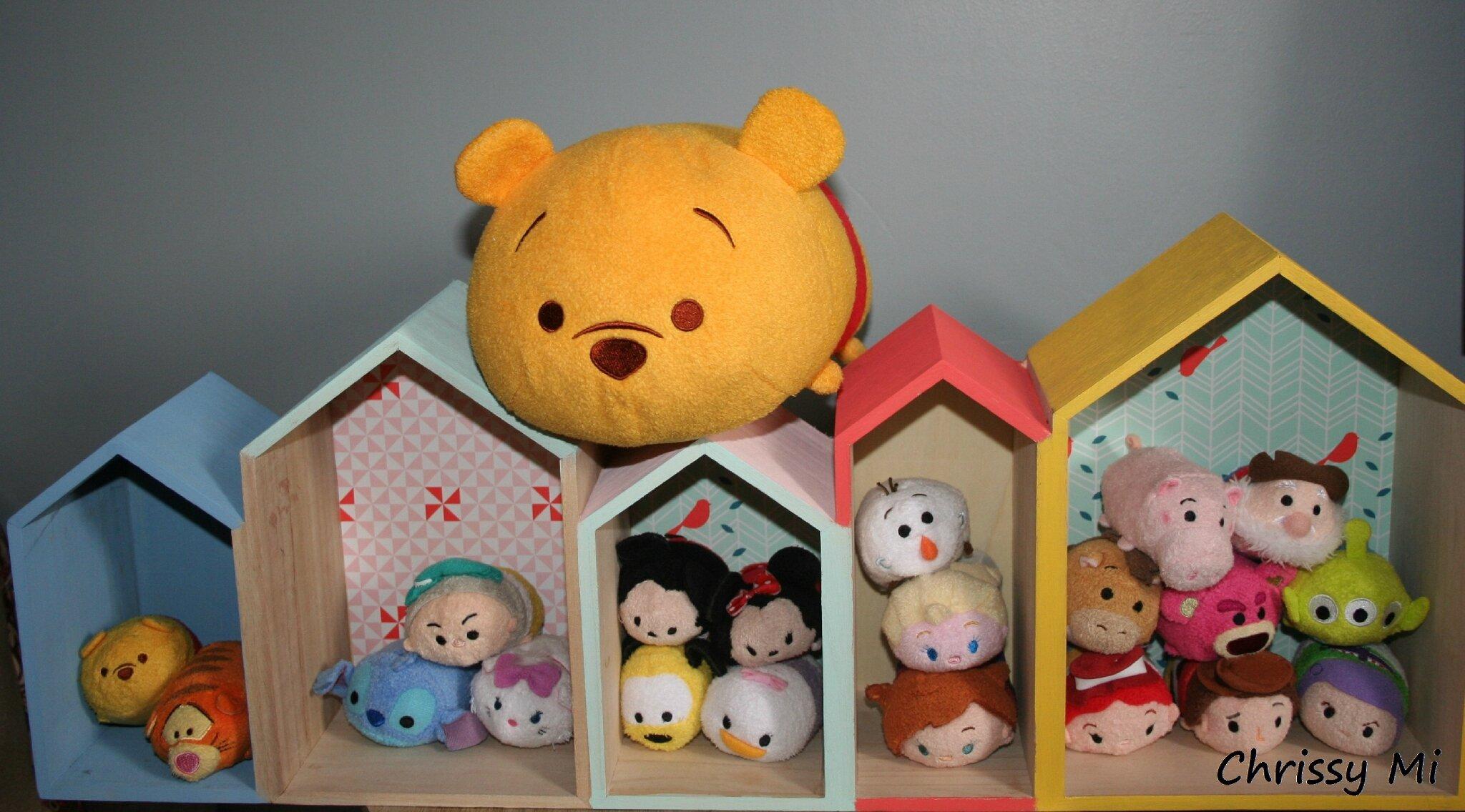Une maison pour les tsum tsum !!!