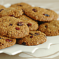 Cookies avoine, noix de coco & fruits