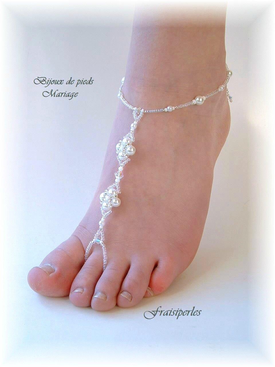 Bijoux de pieds mariage