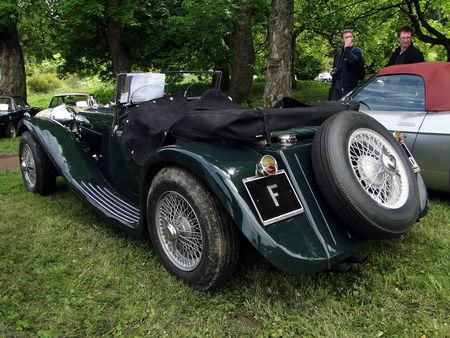 JAGUAR SS 100 1939 Exposition de vehicules sportifs du Club Ravage HOHBUHL 2010 2