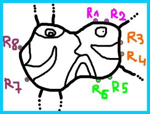 43_PERSONNAGES ET ANIMAUX_ A partir de Bleu de cielForme J ronds à relier