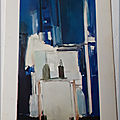 900 Staêl - fond bleu - écrite