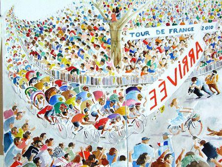 Arriv_e_du_tour_de_France_2010_40x50