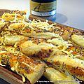 Crousti-torsades feuilletées à la moutarde clovis