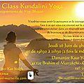 Trois ateliers de master kundalini yoga au maroc - casablanca et rabat - juin 2014