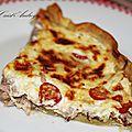 Tarte au thon fromagère: la recette qui dépanne