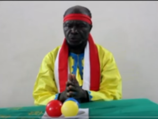 MFUMU MUANDA NSEMI LORS DE SA RECENTE VIDEO LE 30 JUILLET 2018