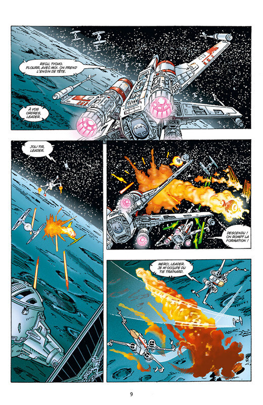 delcourt star wars x-wing rogue squadron intégrale 03 a