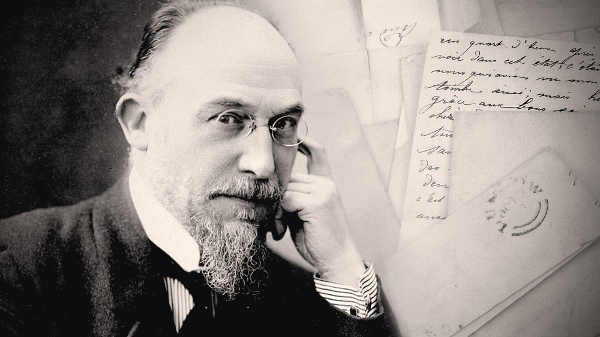 - Satie et le psychanalyste - Des notes bleutées.