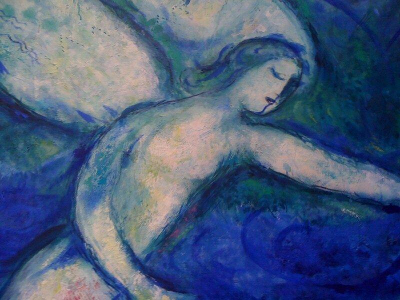 Marc Chagall, Adam et Eve chassés du Paradis