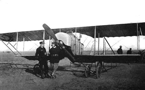 un Gaudron G3 de l'école de pilotage d'Istres, 1917