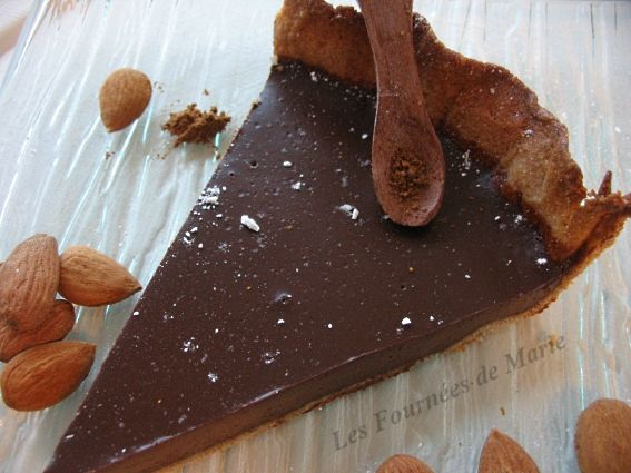 Tarte au chocolat de Noël
