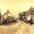 Langemarck ruines de guerre