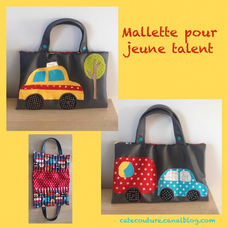 Mallette jeune talent bolide