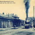 Locomotives en gare de saint-chamond